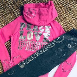 27b91de972509 Women Victoria Secret Pink Sweatsuit on Poshmark